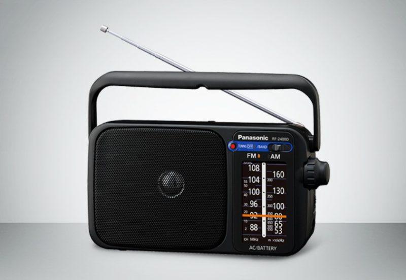 Sony ICFP26 Portable Radio with Speaker